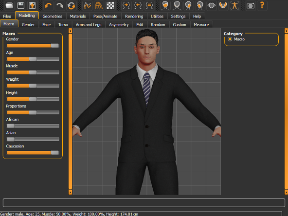 Make human free 3d cg character creation software 3d creator free